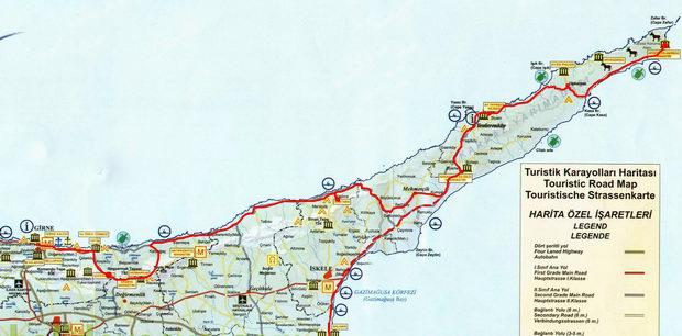 Картинки по запросу северный кипр Карпас карта